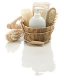 Objects for bathing Royalty Free Stock Image