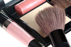 Objects close-up cosmetics Stock Images