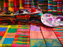 Objects of craftsmanship. Tipical objects of mexican craftsmanship Stock Images