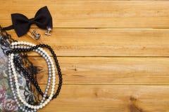 Objects defining fashion style Royalty Free Stock Image