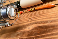 Objects for fishing Stock Photo