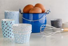 Objects for homemade baking Royalty Free Stock Photos