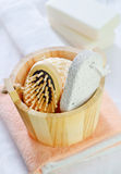 Objects for hygiene Royalty Free Stock Photo