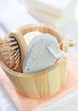 Objects for hygiene Royalty Free Stock Image