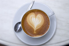 Objects - I Love Coffee Stock Photos