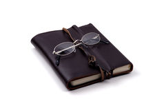 Objects - Leather-bound tome Royalty Free Stock Photos
