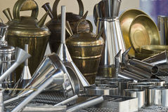 Objects Made Of Brass. Stock Image