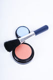 Objects for make up. On white background Royalty Free Stock Photos