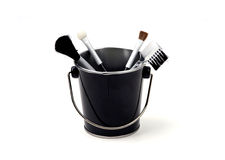 Free Objects - Make-up Brushes In A Bucket Stock Photos - 1460953