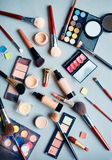 Objects for makeup Stock Image
