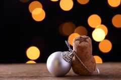 Objects and ornaments of Christmas Royalty Free Stock Image