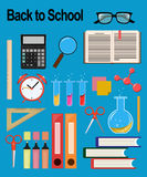 Objects for school. Back to study. Royalty Free Stock Photography