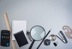 Objects schoolboy Stock Photos