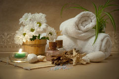 Objects for SPA Royalty Free Stock Images