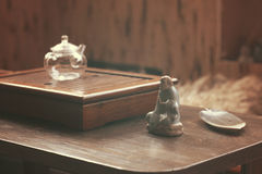Objects for tea ceremony Royalty Free Stock Images