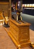 Objects from the thomb of Tutankhamen Royalty Free Stock Photo