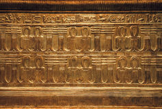 Objects from the tomb of Tutankhamen Stock Image
