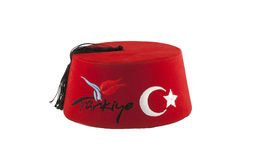 Objects turkey cap. Ornate traditional Stock Image