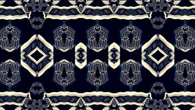 Objects in weightlessness. Geometrical pattern. Royalty Free Stock Images