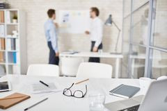 Objects on workplace Stock Image