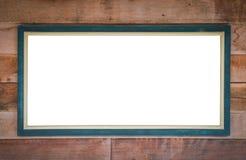 objekt över vitt trä för signboard royaltyfri bild