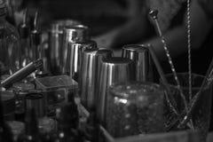 Objekt av bartendern arkivbilder