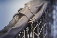 Objekt bildar kroppen med servicephotopolymer som skrivs ut på en skrivare 3d Royaltyfri Bild