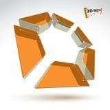 objekt för färgrik cylinder för ingrepp som 3d abstrakt isoleras på vitbaksida Fotografering för Bildbyråer