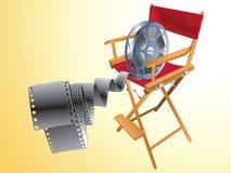 objektfilm royaltyfri illustrationer