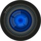 Objektiv Stockbild