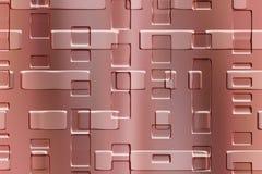 Objet abstrait en métal Image stock