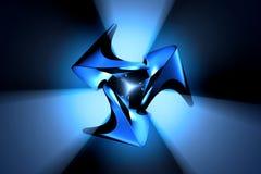 Objet abstrait en métal Image libre de droits