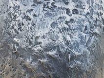 Objet argenté doux en métal avec de petits trous image libre de droits
