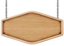 objet au-dessus d'en bois blanc de panneau indicateur Image libre de droits
