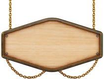 objet au-dessus d'en bois blanc de panneau indicateur Photos stock