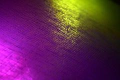 Objet coloré accentué avec la photographie différente de fond d'effets de la lumière photos stock