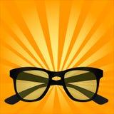 Objet d'art de bruit pour la vue, lunettes de soleil, verres Images libres de droits