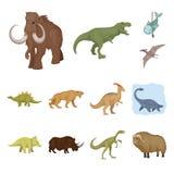 Objet d'isolement d'icône d'animal et de caractère Placez du symbole boursier animal et antique pour le Web illustration de vecteur