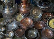 Objet de cuivre anatolien image libre de droits