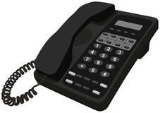 Objet de téléphone de bureau de siège social de téléphone illustration libre de droits