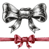 Objet du cadeau Bow Image stock
