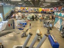 Objet exposé aux musées militaires, Calgary Photographie stock
