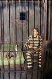 Objet exposé dans la galerie thématique dans Ushuaia, Argentine Photos stock