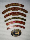 Objet exposé dans le musée ferroviaire national à York, Yorkshire Angleterre Images stock