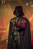 Objet exposé Darth Vader de Starwars Photo stock