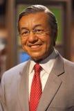 Objet exposé de figure de cire de chef d'ASEAN Photo libre de droits