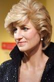 Objet exposé de figure de cire de princesse de Galles Photos libres de droits