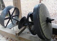 Objet exposé High Springs la Floride de moulin d'essentiel Photographie stock libre de droits