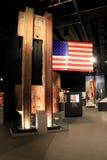 Objet exposé mobile couvrant les événements de 9-11, musée de l'état d'Albany, New York, 2016 Photos libres de droits