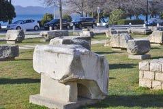 Objet façonné du forum romain Photographie stock libre de droits